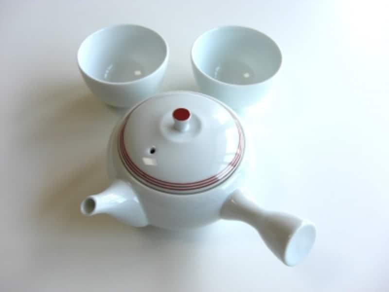 新茶の入れ方手順4
