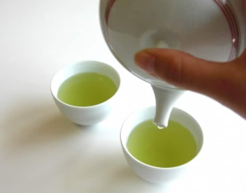 新茶の入れ方手順6
