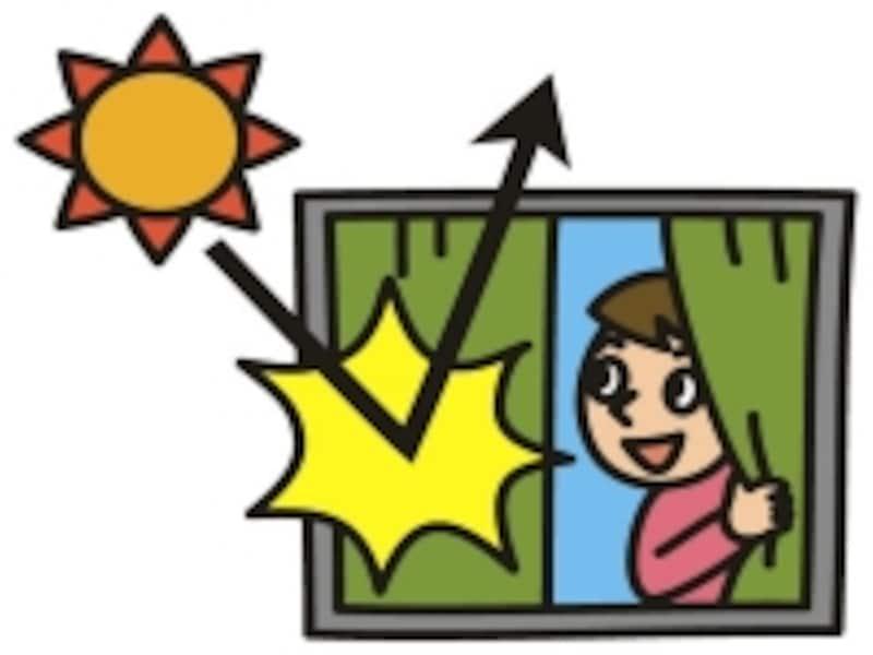 夏の窓対策