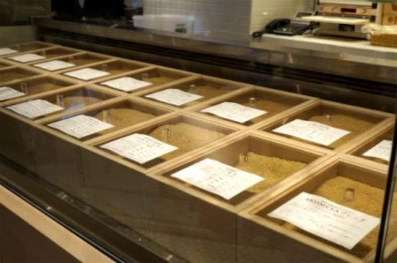 さまざまな種類のお米