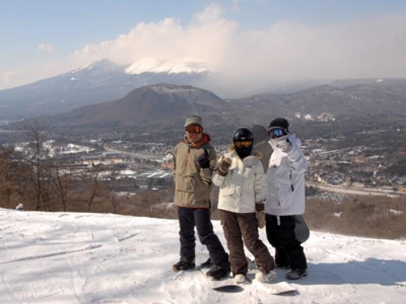 浅間山スキー