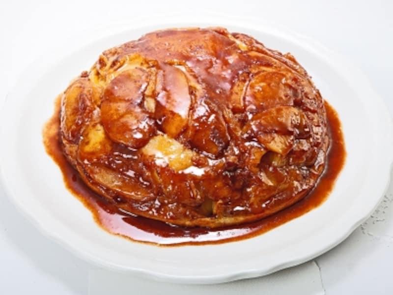 「オリジナルパンケーキハウス」の「アップルパンケーキ」(1680円)