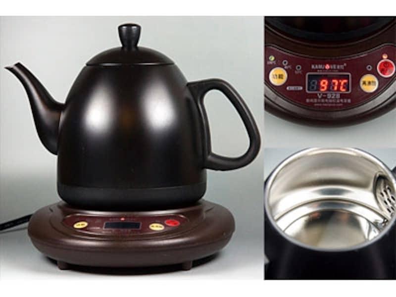 デジタル温度計付き電気ケトル(電茶壺)