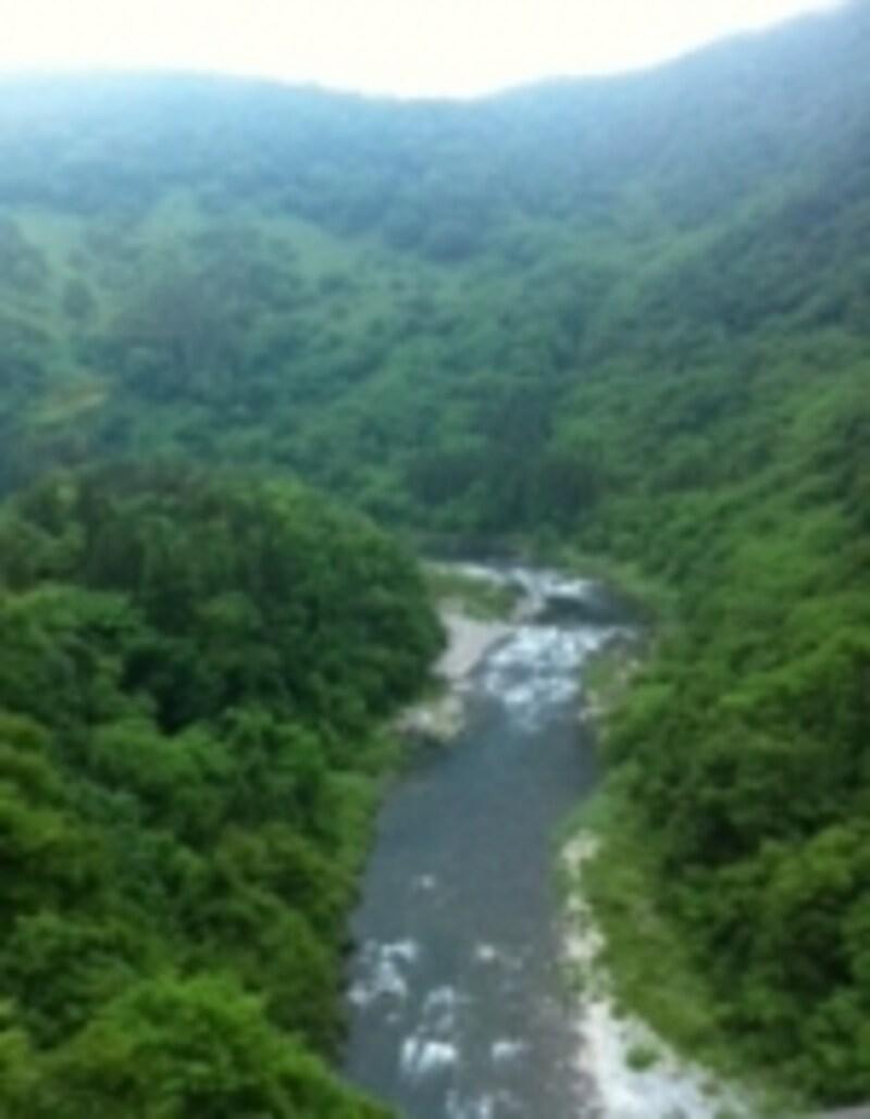 絶景の渓谷