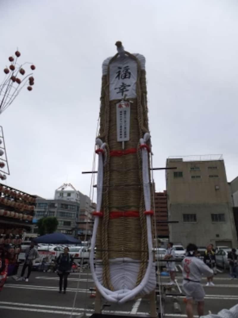 わらじまつり(4)/復興祈念の福幸わらじ/東北六魂祭2013福島より