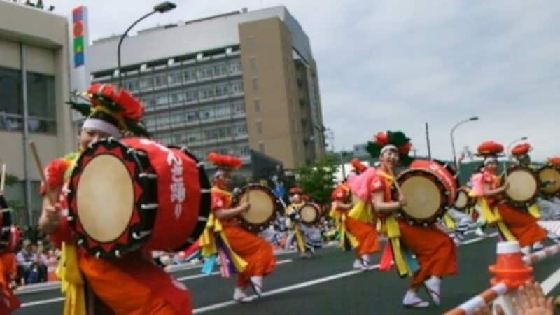 盛岡さんさ踊り(2)/東北六魂祭2013福島より