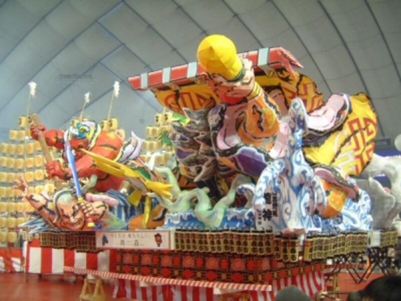 青森ねぶた祭(2)/ふるさと祭り東京2012に出展したねぶた
