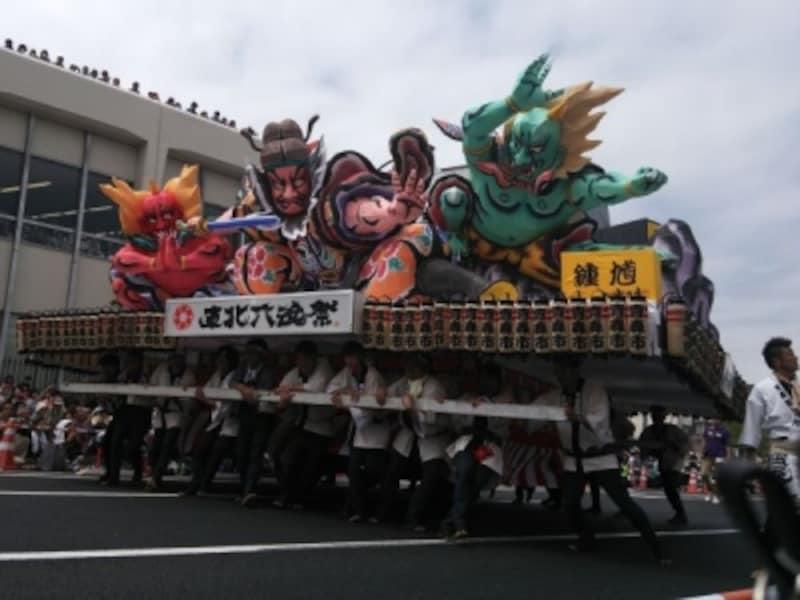 青森ねぶた祭(1)/東北六魂祭2013福島より