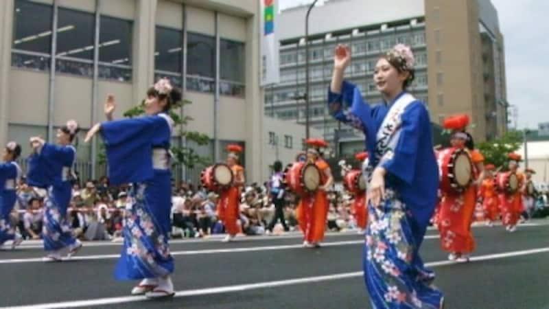 盛岡さんさ踊り(1)/東北六魂祭2013福島より