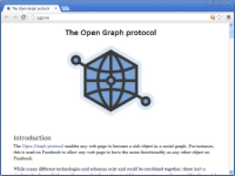 OGP/The Open Graph protocol