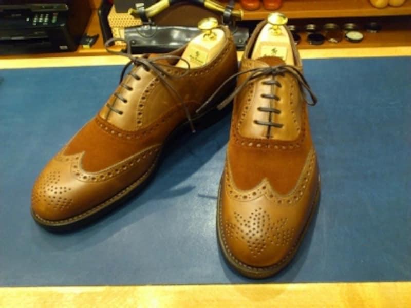 荒井氏の靴undefined1