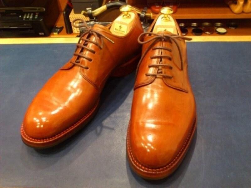 荒井氏の靴undefined2