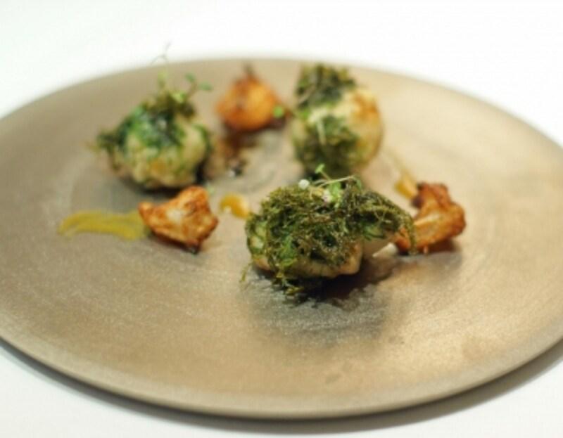 北海道カスベほほ肉と八代一番のりのフリット