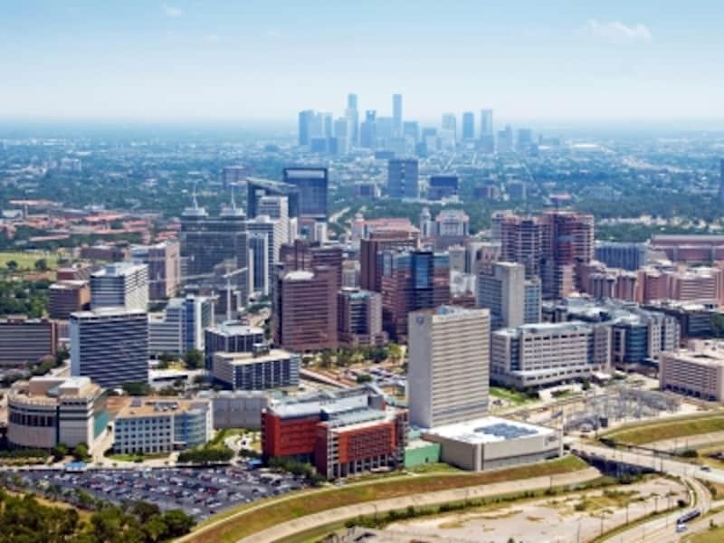 全米第4位の巨大都市ヒューストン