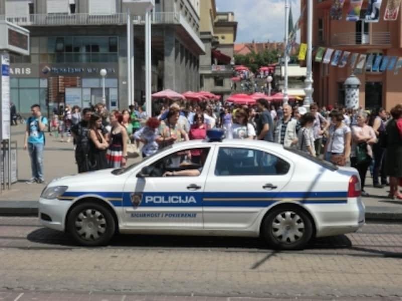 クロアチアの警察