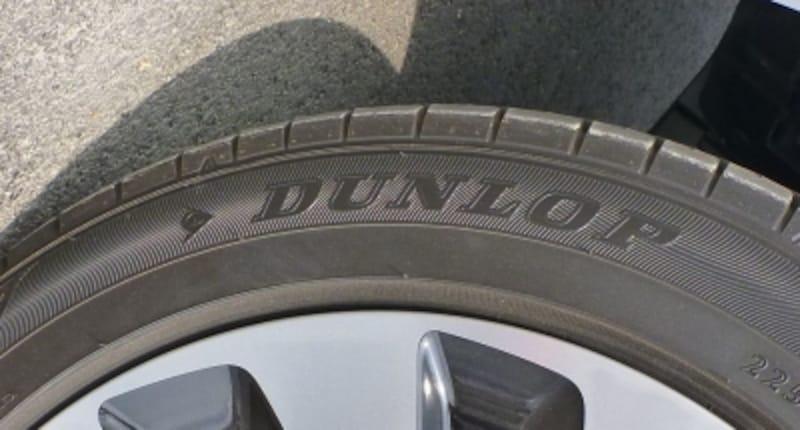 アコードHVの標準タイヤであるダンロップのECOタイヤ