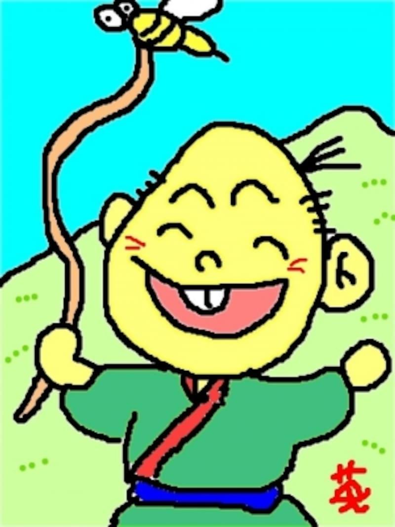 わらしべ長者(画:ガイド)
