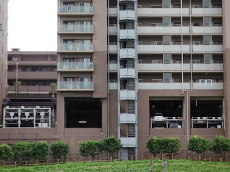 マンションの駐車場