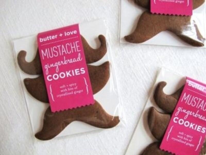 ヒゲ型クッキー