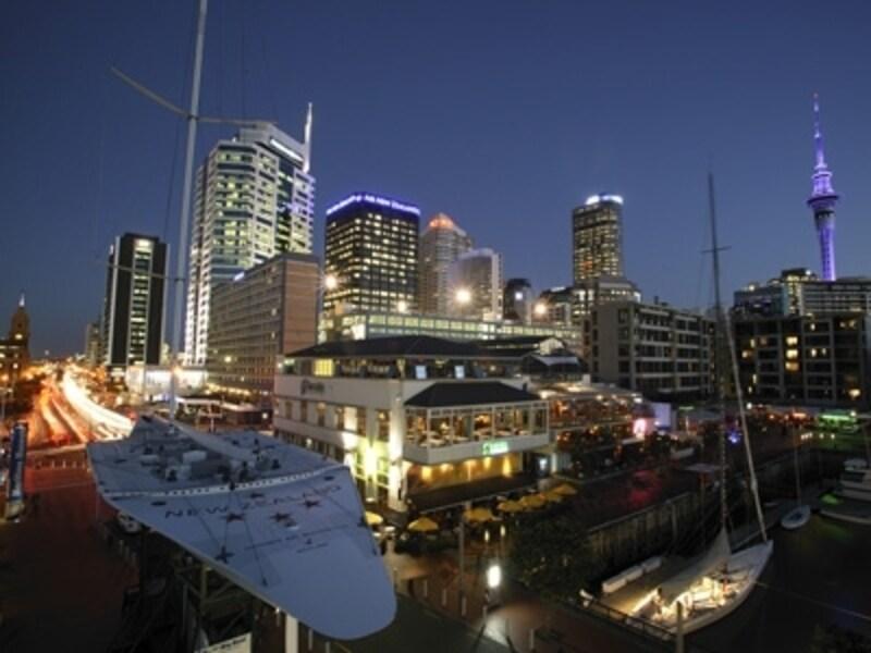 ニュージーランド最大の都市オークランド