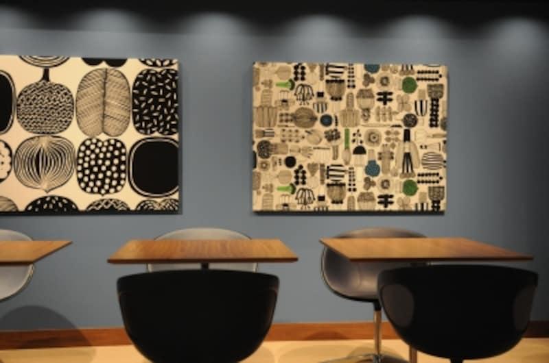 北欧デザイナー家具を設えたカフェ