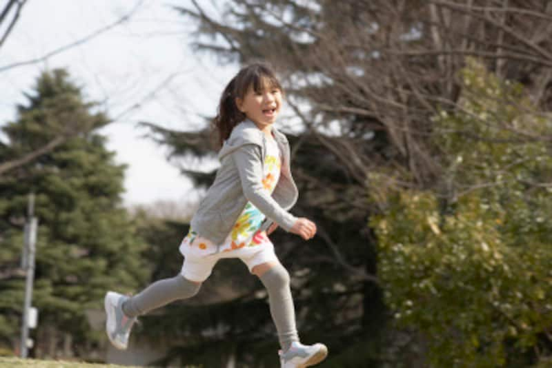 走るのが好きな子供に育つために出来ることは?