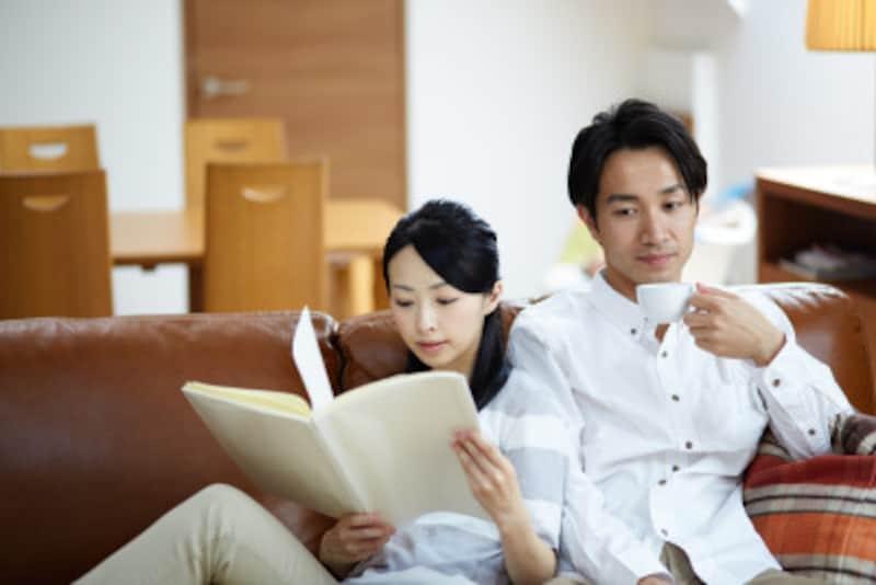 親自身が読書を楽しむ