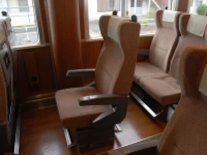 AIZUマウントエクスプレスの座席