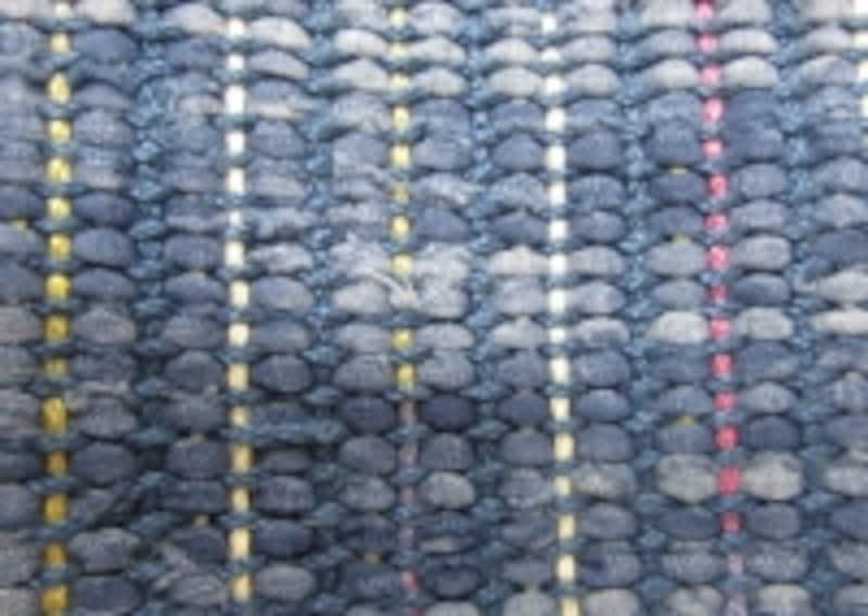 裂き布と糸の構成は?