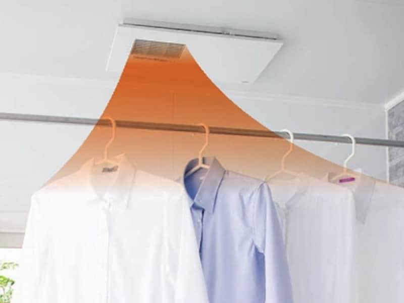 部屋干しファン