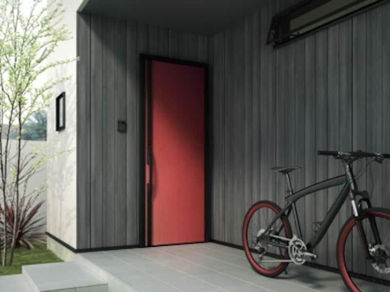 モダンな玄関ドア