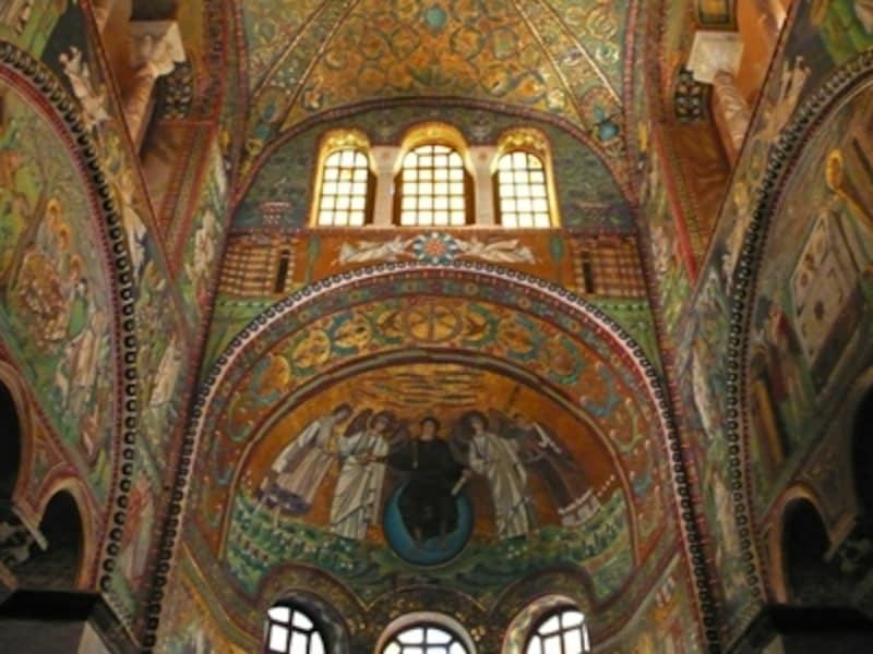 サン・ヴィターレ聖堂、内陣のモザイク