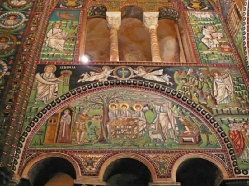 サン・ヴィターレ聖堂のモザイク