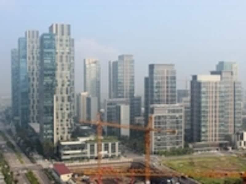 仁川自由経済特区開発光景