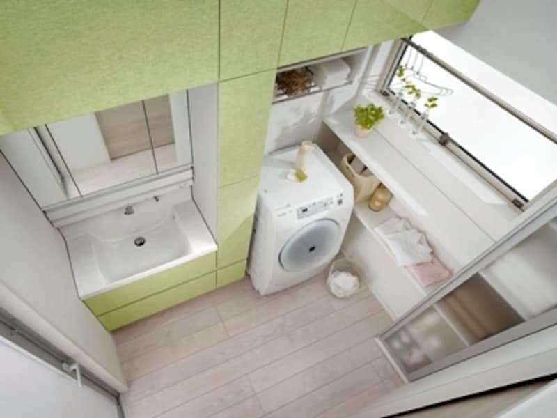 洗濯機横のスペース
