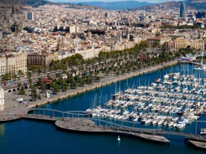 バルセロナ港