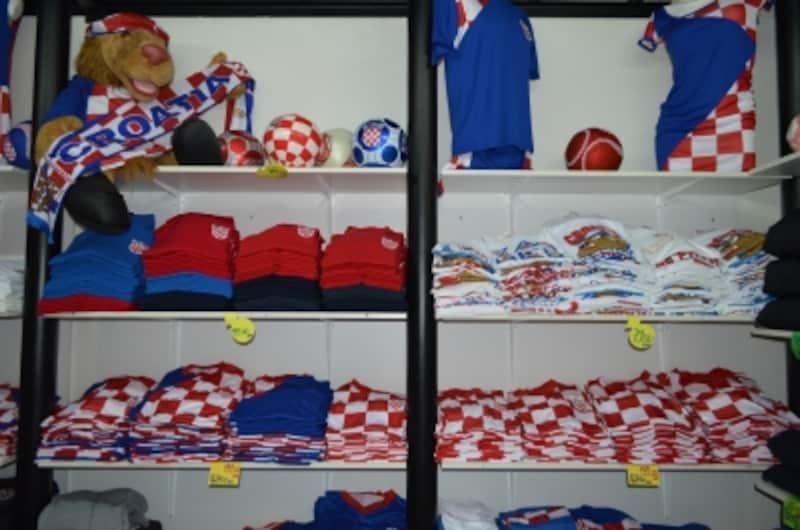 クロアチアのサッカーグッズ