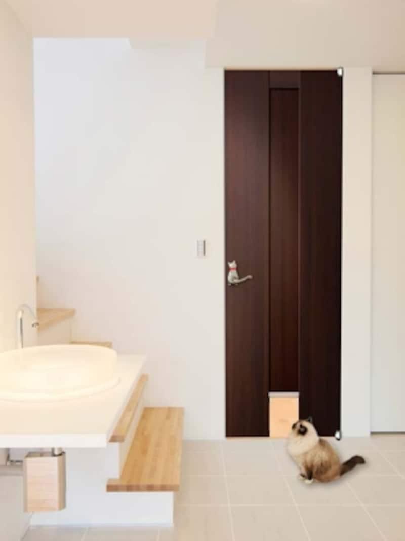 猫undefinedリフォームundefinedコツundefined猫ドア