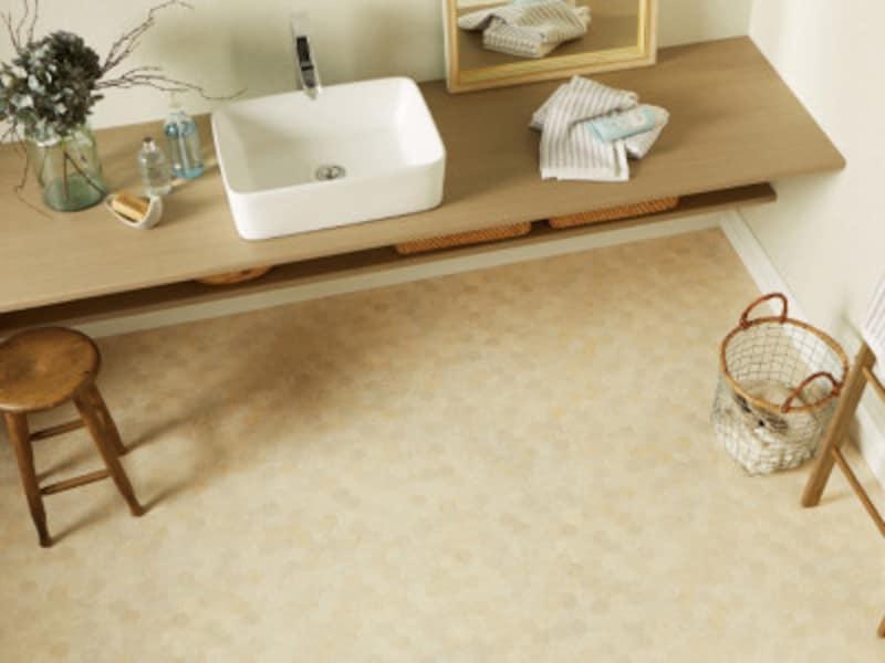 トイレの床材クッションフロアシート