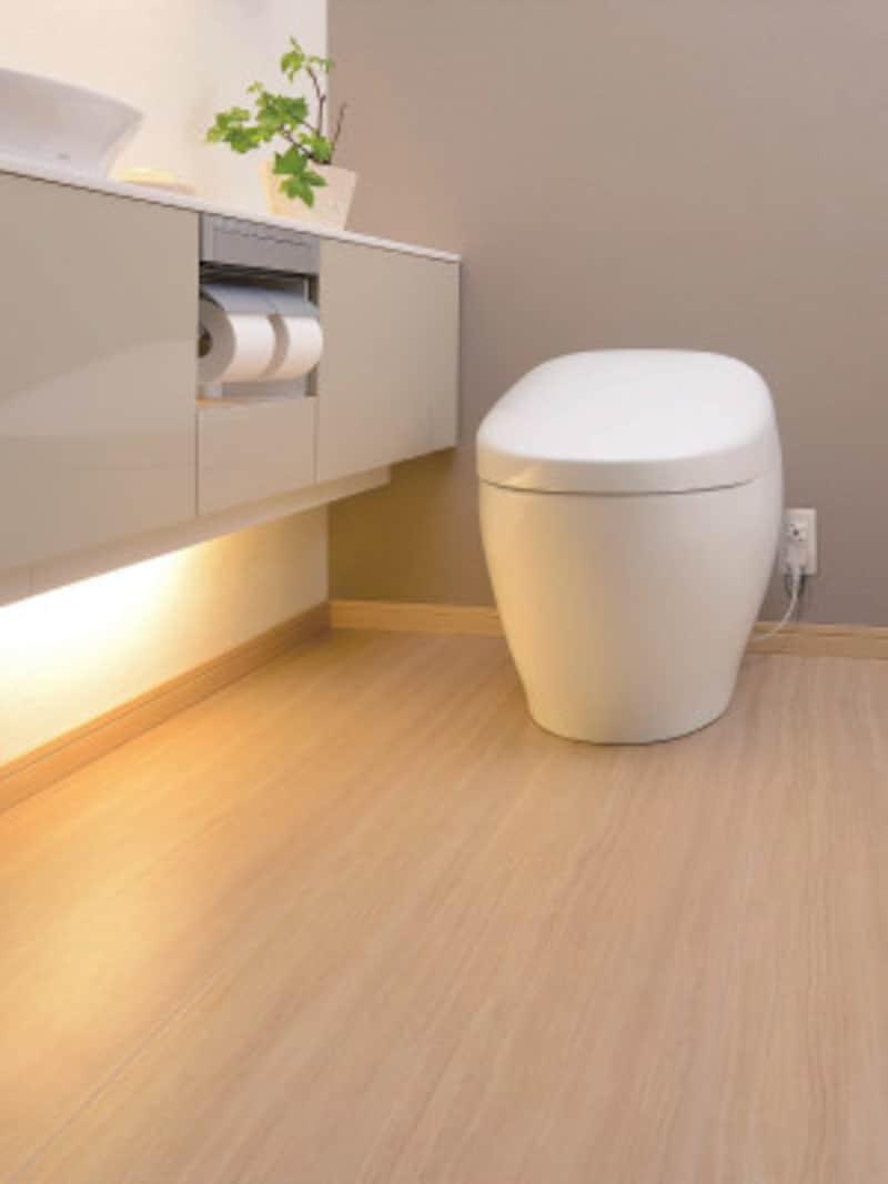 トイレの床セラミックタイル