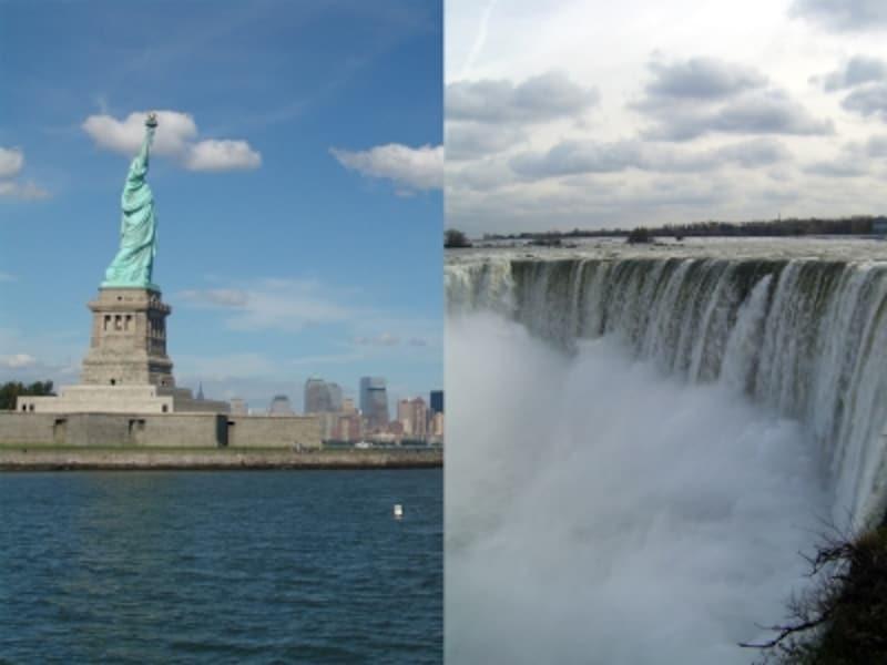 どちらも見ておきたい必須の観光ポイント