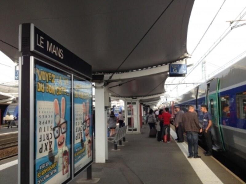 TGVルマン駅