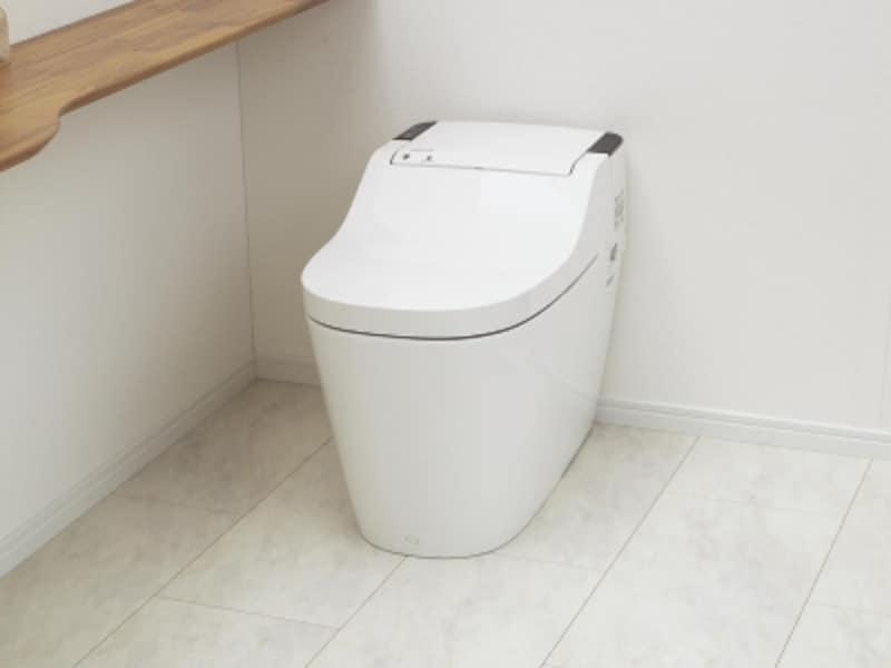 ノンセラミックのトイレ