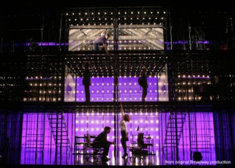 『NexttoNormal』ブロードウェイ公演より。写真提供:東宝
