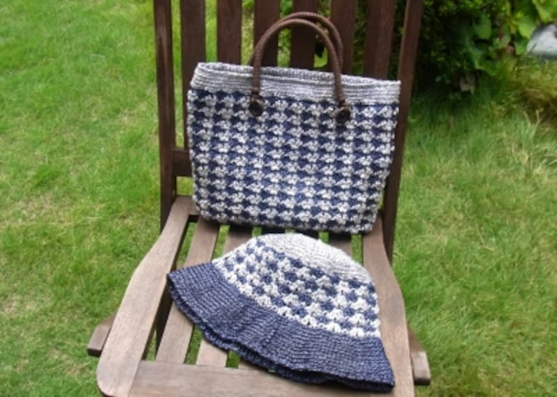 アンダリアで編むバッグの作り方