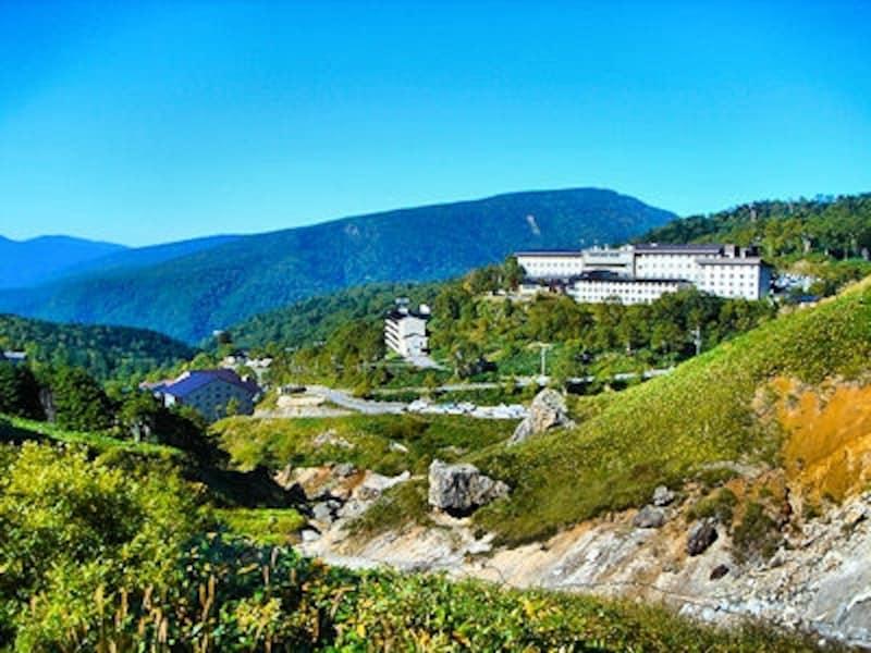 万座温泉は標高日本一の温泉街!おすすめ観光スポットを紹介