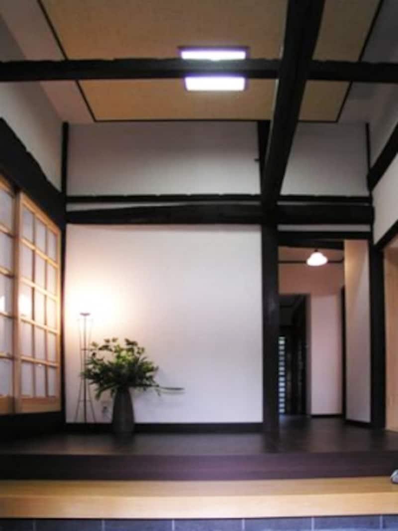 古民家リフォーム後画像、玄関