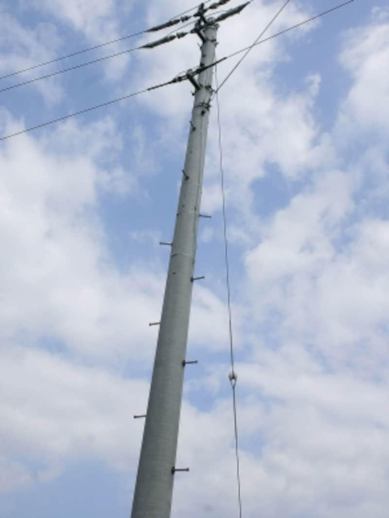 電柱の足場ボルト