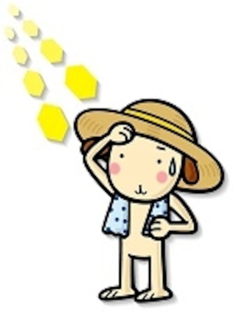 汗の季節。夏は皮膚科がいつも以上に混雑だとか…