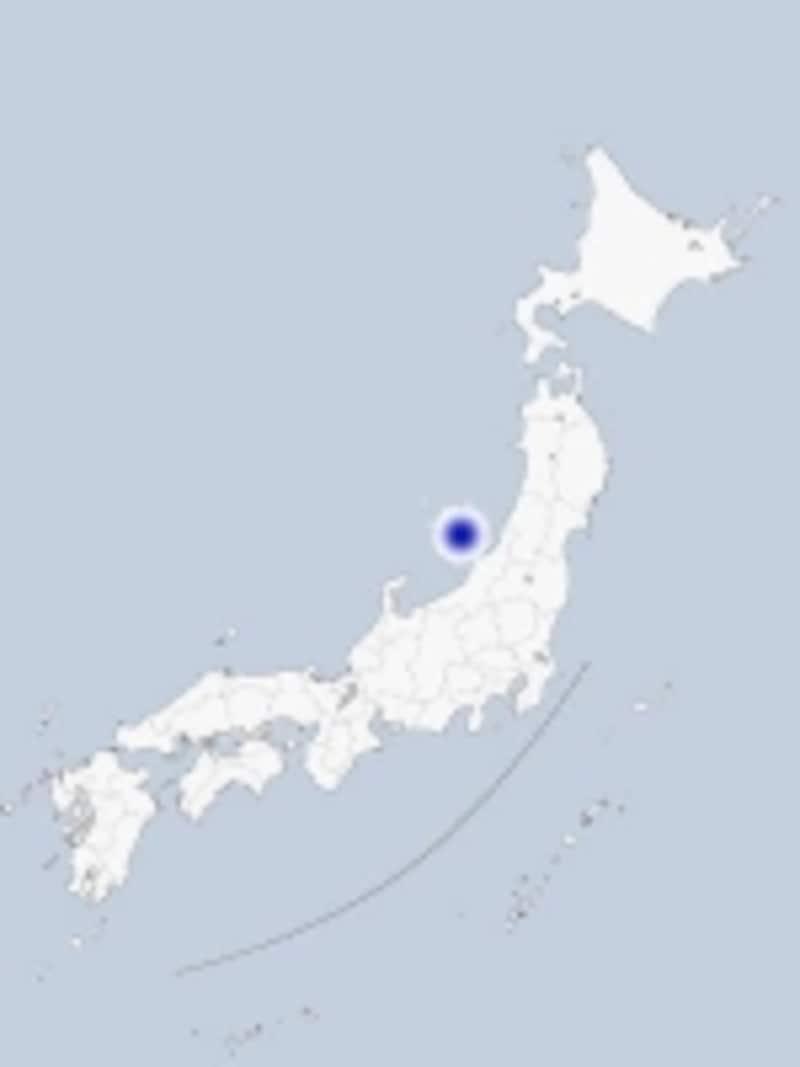 佐渡の地図